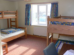 Bedroom at Treyarnon Youth Hostel