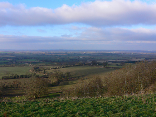 View from Edge Hill, Warwickshire