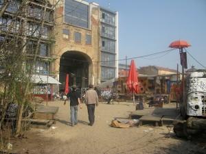Kunsthaus Tacheles art warehouse in Berlin