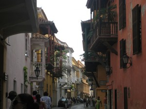 Cartagena, the romantic heart of Columbia