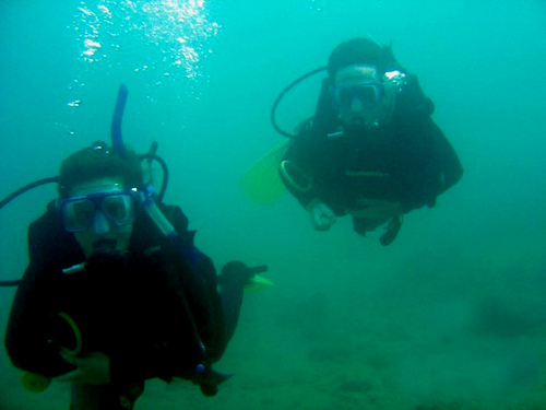 Diving in Taganga