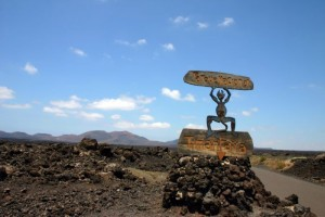Timnafaya national park on Lanzarote