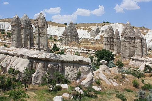 Fairy Chimneys in Goreme, Cappadocia