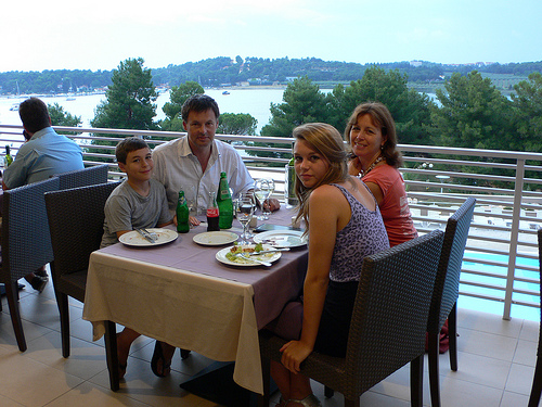 Dinner at Hotel Molindrio in Istria, Croatia
