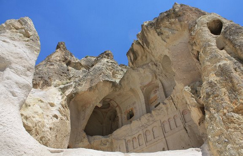 Rock Church in Goreme, Cappadocia