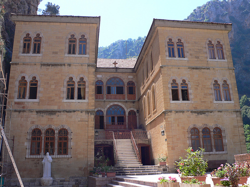 Monastery of St Anthonys of Qozhaya in Lebanon