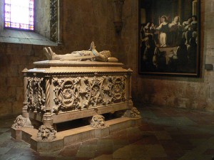 Tomb at Monastery of Jeronimus in Lisbon