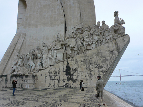The Monument to the Discoveries in Belem, Lisbon