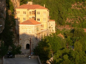 Monastery of St Anthony of Qozhaya in Lebanon