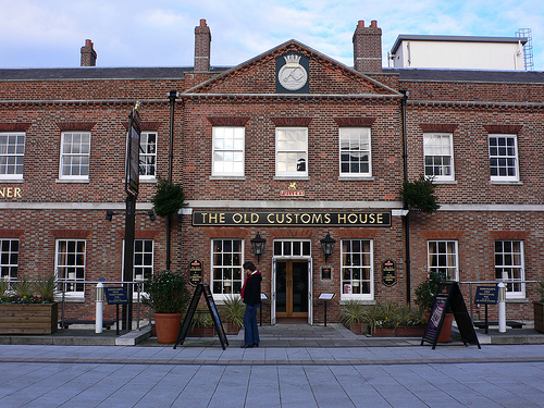 The Old Customs House Pub at Portsmouth