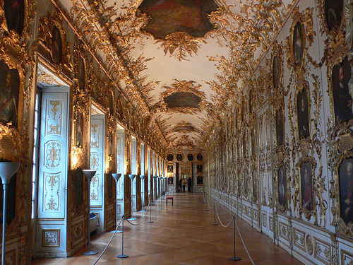 The picture gallery at the Residenz in Munich