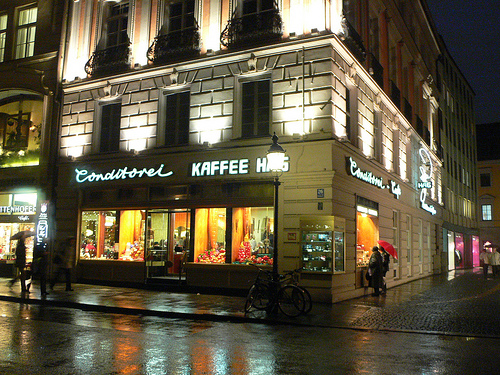 Kaffee House in Munich