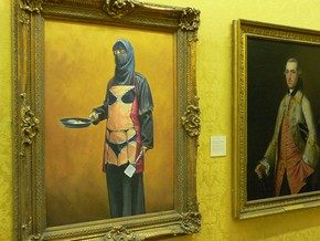 Banksy exhibition in Bristol Museum