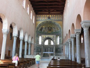 The Basilica of Euphrasius in Porec