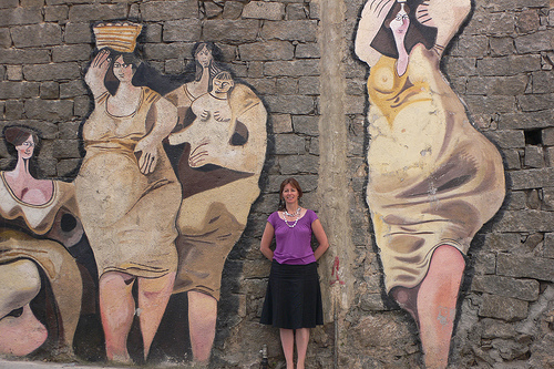 Friday Photo - Murals in Orgosolo - in Sardinia