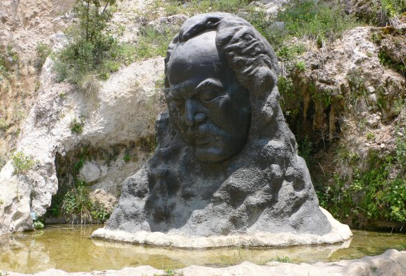 Khalil Gibran museum at Bchare in Lebanon