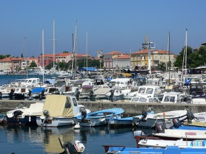 The Marina in Porec, Istria