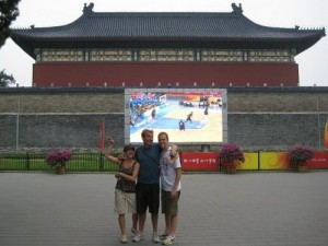 Exploring at the Beijing Olympics