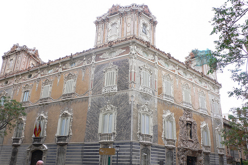Palacio de Marques de Dos Aguas  Heather on her travels