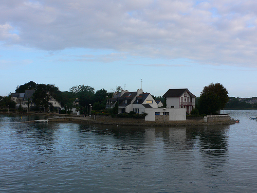 Conleau near Vannes in Brittany
