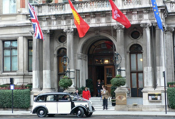 Mandarin Oriental, Hyde Park, London | Heather on her travels