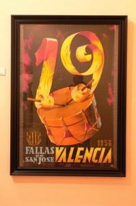 Fallas poster Fallas museum