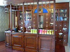 Herbalist counter at Hotel Heritage Av. Liberdade in Lisbon