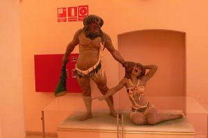 Sculpture at Fallas Museum