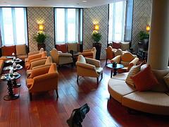 Sitting area of Hotel Heritage Av. Liberdade in Lisbon