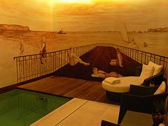 Swimming pool at Hotel Heritage Av. Liberdade in Lisbon