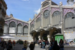 Mercado central in Valencia