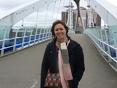 At Salford Quays, Manchester