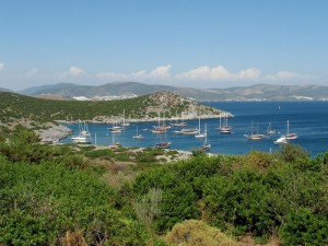 Coastline near Bodrum, Turkey