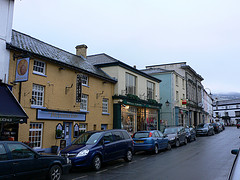 Crickhowell in the Brecon Beacons, Wales
