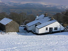 Laswern Fawr holiday cottage, Brecon Beacons