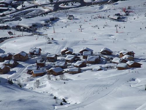 Alpe d'Huez in France