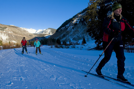 Nordic Ski with the family in Vail, Colorado