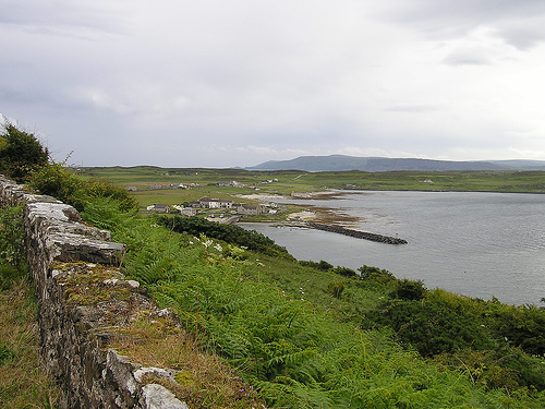 Rathin Island in Northern Ireland