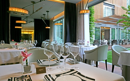 Luxuries of barcelona revealed heather on her travels - Restaurant abac barcelona ...