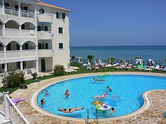 Windmill Bay Hotel in Argassi, Zante, Greece