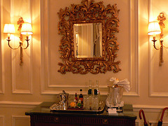 Prince of Wales Suite at Mandarin Oriental Hotel, Hyde Park, London