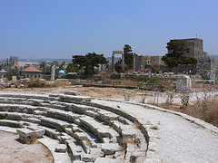 Roman ampitheatre at Byblos in Lebanon