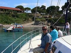 Catamaran trip from  Porto Roma