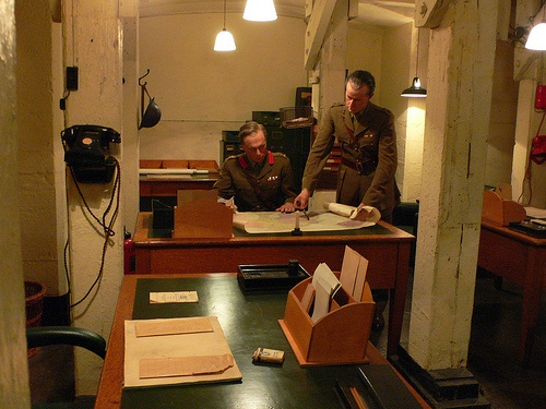 Churchill War Rooms In London Into Churchill S