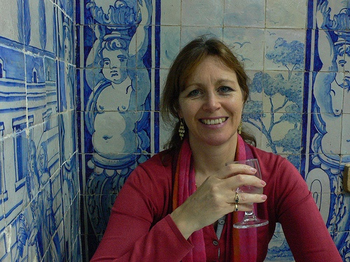 Heather Cowper at Casa do Alentejo