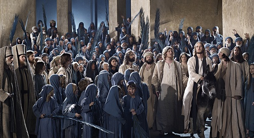 Jesus enters Jerusalem Oberammergau Passion Play