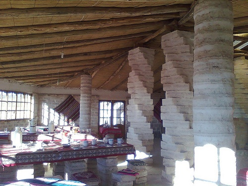 Salt hotel in Bolivia