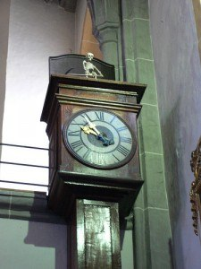 Tod von Eding clock at Altötting, Germany