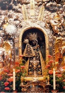 Black Madonna at Altötting in Bavaria