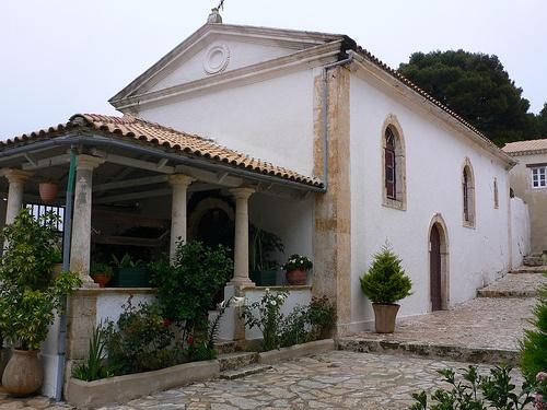 Monastery of St Georgios Krimnon near Volimes